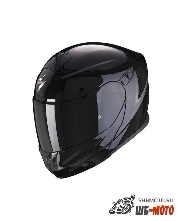 SCORPION EXO Мотошлем EXO-920 EVO SOLID, цвет Черный