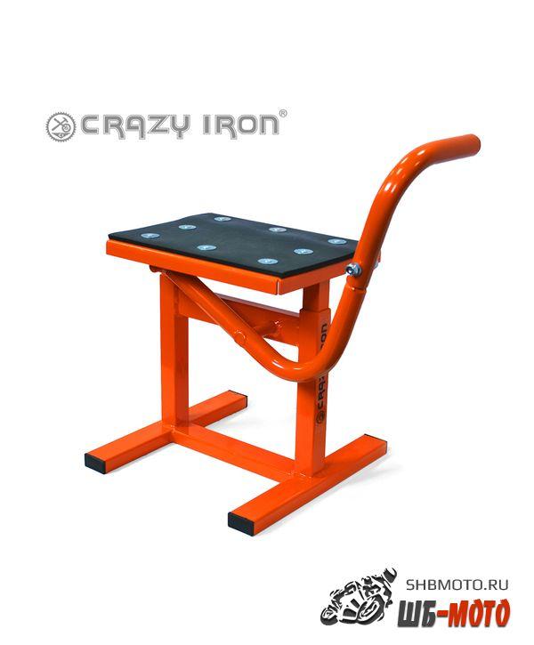 CRAZY IRON Подставка подъемник CROSS/ENDURO ORANGE