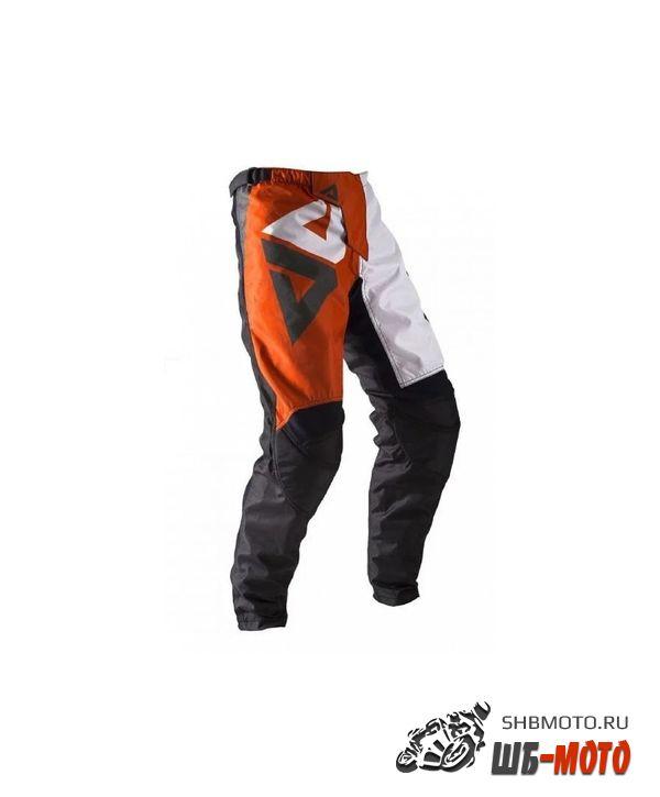 Брюки для мотокросса ATAKI Strike красные/черные XL