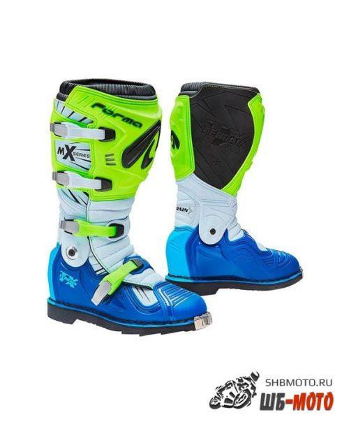 Ботинки FORMA TERRAIN TX YELLOWFLUO/WHITE/BLUE