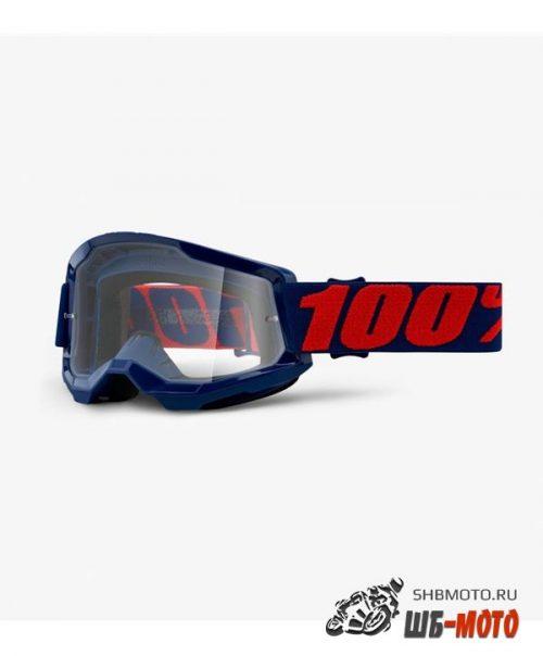 Очки 100% Strata 2 Goggle Masego / Clear Lens