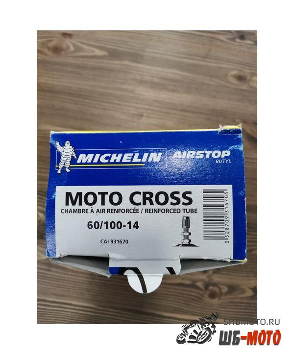 Мотокамера Michelin 14 (60/100) Moto Cross Усиленная