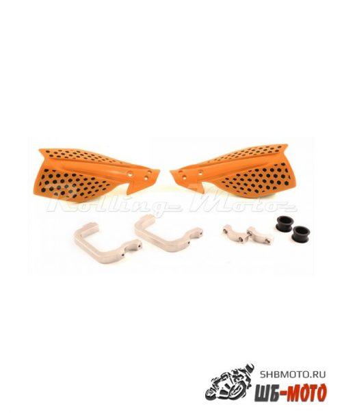 Защита рук MX (пара) HP26 оранжевая  SM-PARTS