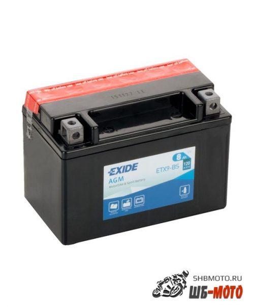 Аккумулятор EXIDE AGM YTX9-BS, YTX9BS