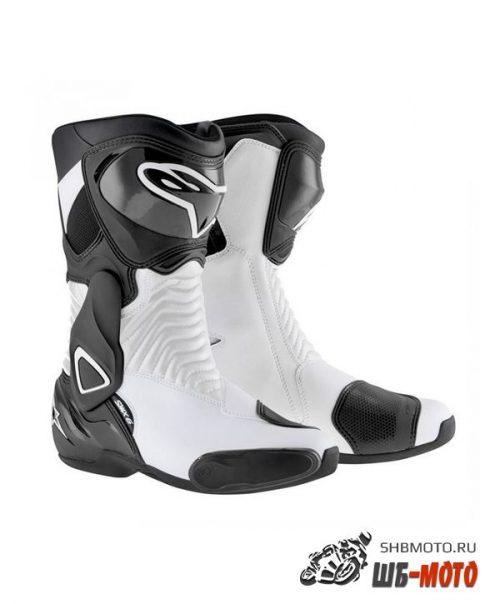 Alpinestars Ботинки S-MX 6 черно-белые