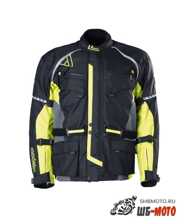 Куртка Tourex Modeka Black Yellow