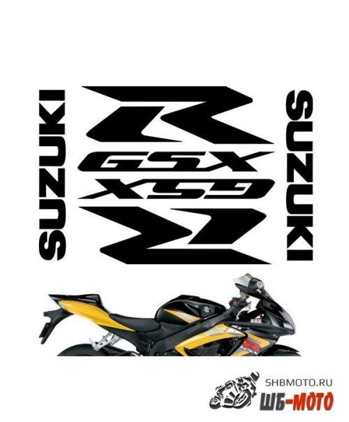 "CRAZY IRON Комплект наклеек ""SUZUKI GSXR pack"" Цвет: Черный"