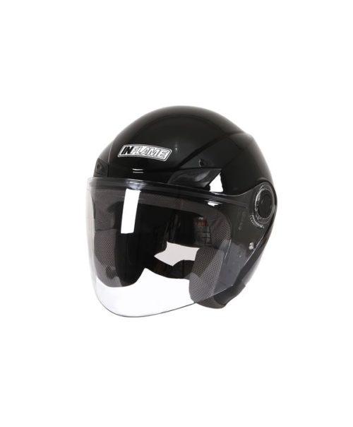 Шлем открытый INFLAME PATRIOT моно, черный