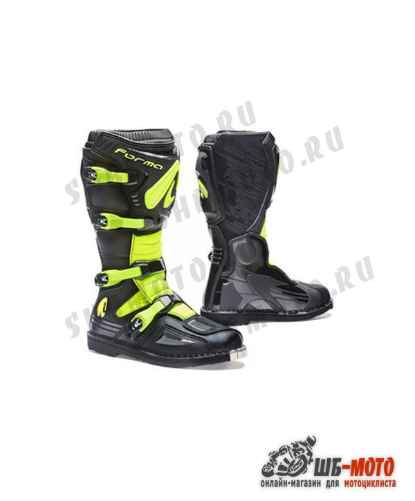 FORMA Ботинки TERRAIN EVO BLACK/YEL.FLUO