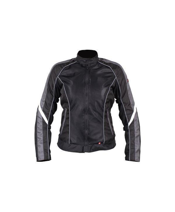 Куртка женская INFLAME GLACIAL текстиль+сетка, цвет серо-черный