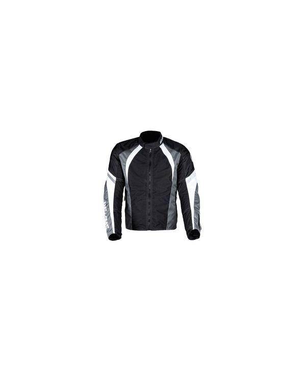 Куртка мужская INFLAME INFERNO текстиль+сетка, цвет черный