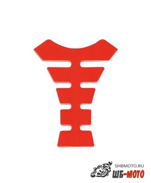 CRAZY IRON Наклейка на бак красная