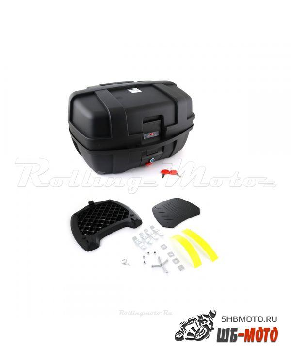 Кофр багажный SM-PARTS YM-0885 (32x42x55см 47л) черн. матовый