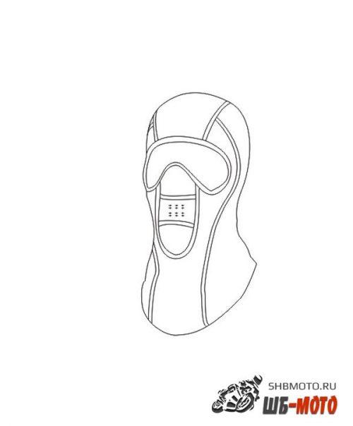 REXWEAR Подшлемник виндстопер (Snow)  PSP.