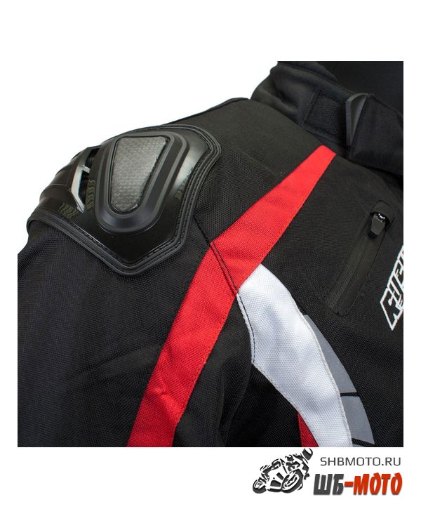 RUSH Мотокуртка HAZARD текстиль, цвет Черный