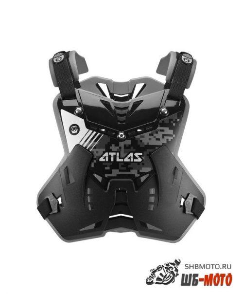 Защита тела ATLAS DEFENDER Digital Stealth черная