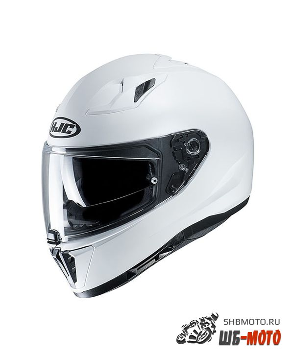 HJC Шлем i 70 SEMI FLAT PEARL WHITE