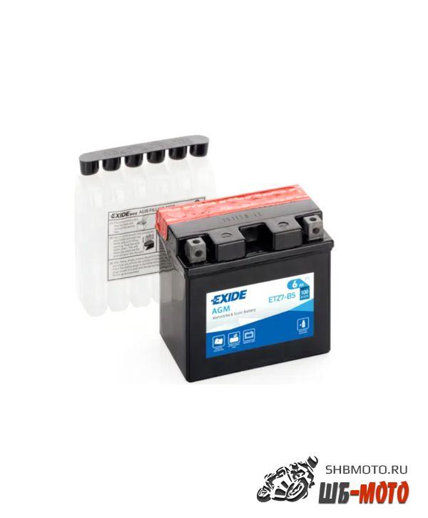 Аккумулятор EXIDE AGM YTZ7-BS