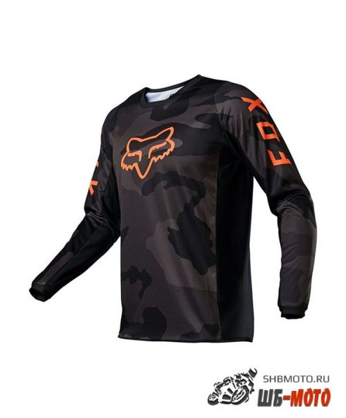Мотоджерси Fox 180 Trev Jersey Black Camo, 2021