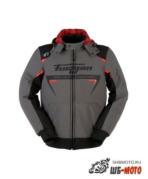 Мотокуртка FURYGAN SEKTOR ROADSTER текстиль, цвет Серый/Черный/Красный