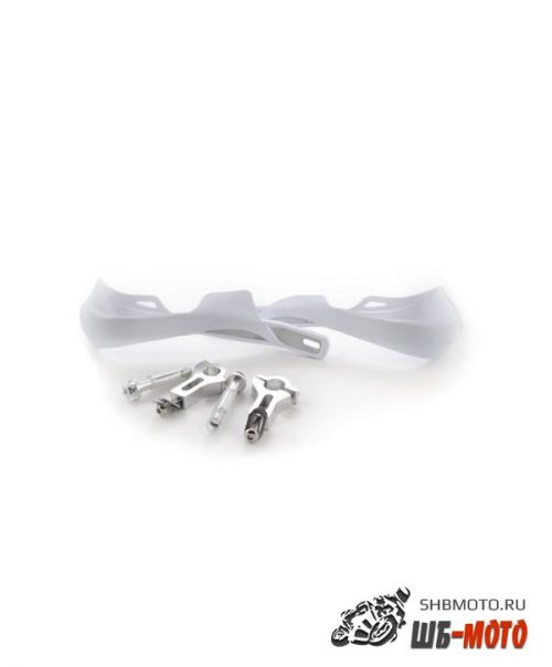 Защита рук (пара) HP03 белая армированная SM-PARTS