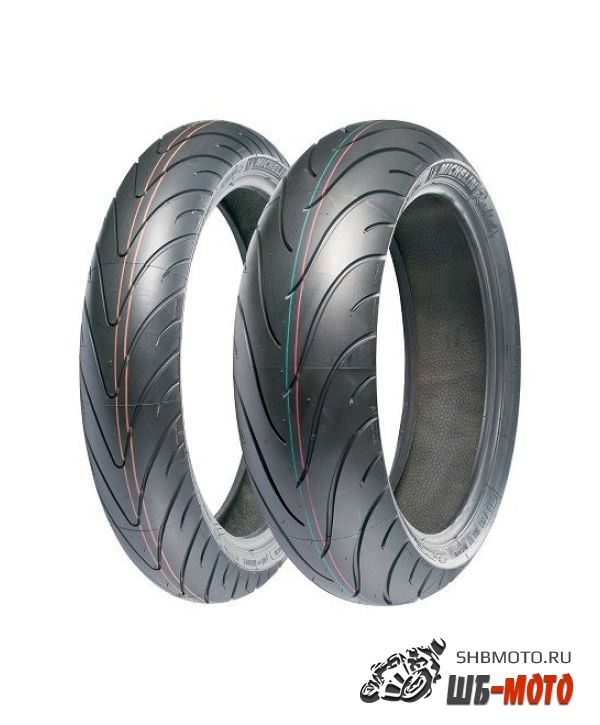 Мотошина MICHELIN 180/55-ZR17 PILOT ROAD 2 M/C Rear TL 73W