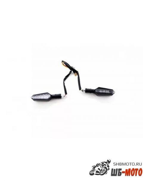 Поворотники светодиодные (компл. 2шт) SM-PARTS SMP-72 черные