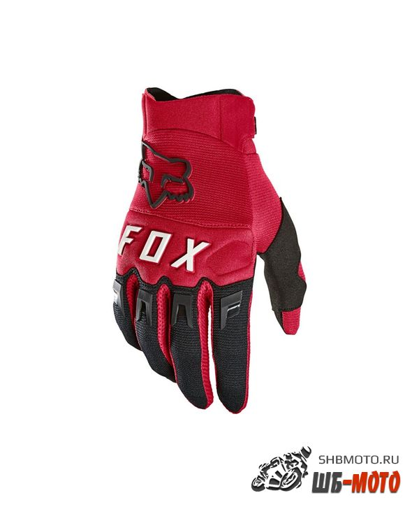 Мотоперчатки Fox Dirtpaw Glove Flame Red
