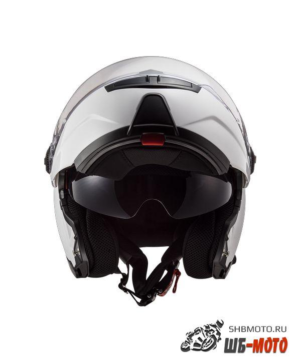 Шлем LS2 FF325 STROBE electricSNOW GLOSS WHITE