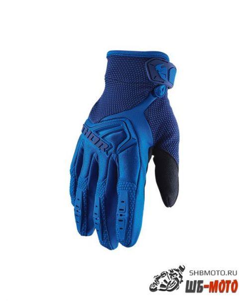 Детские перчатки кросс Thor S20Y Spectrum Blue