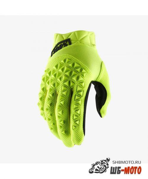 Мотоперчатки 100% Airmatic Glove Yellow/Black