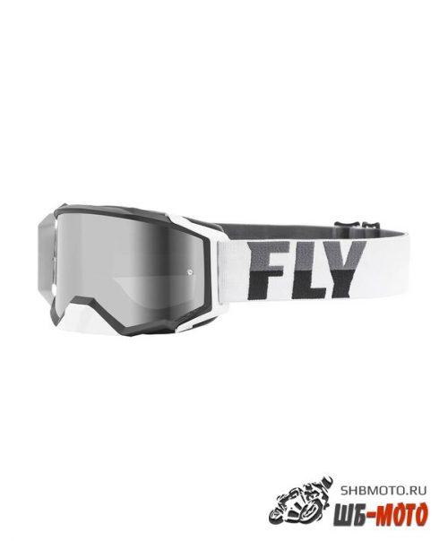 Очки для мотокросса FLY RACING ZONE PRO (2021) белый/черный