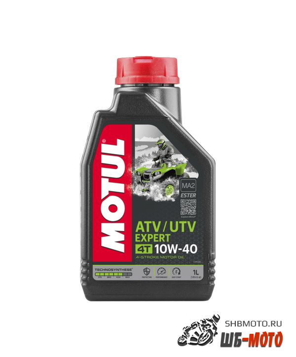 MOTUL ATV-UTV EXPERT 10W40  (4л)