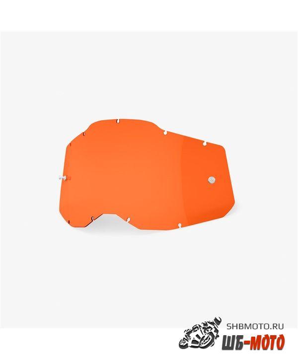 Линза 100% RC2/AC2/ST2 Replacement Lens Orange