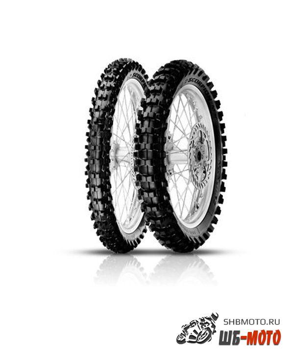 Мотошина Pirelli 100/90 -19 Scorpion MX Extra X 57M TT Rear NHS