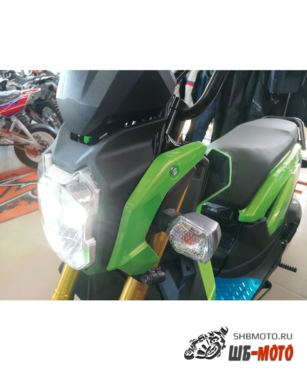 Скутер Vento Naked 49cc (150) Honda Zoomer Replica Зеленый
