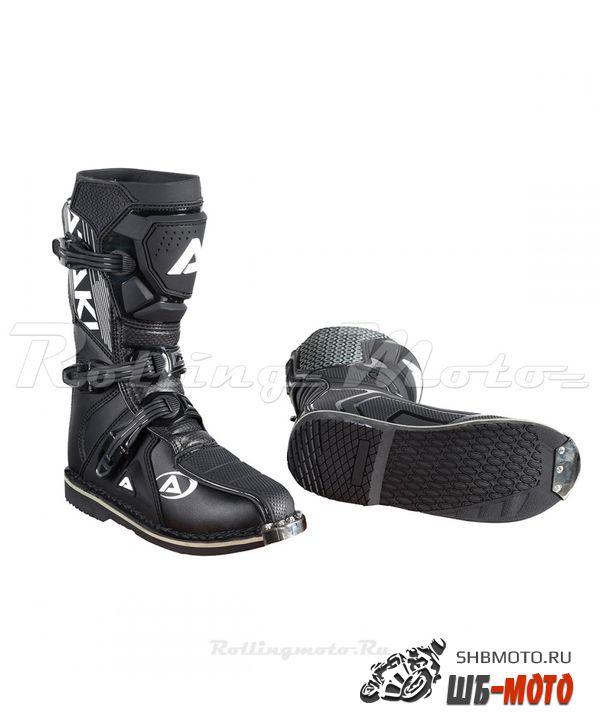 Мотоботы кроссовые ATAKI MX-002Y черные
