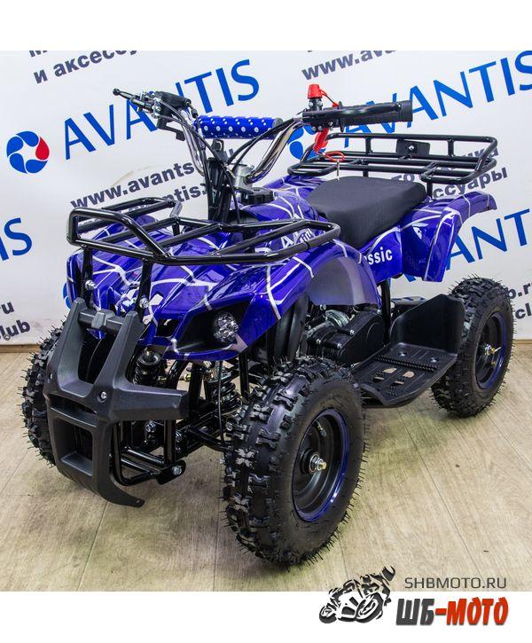 Квадроцикл AVANTIS ATV Classic Mini Синий