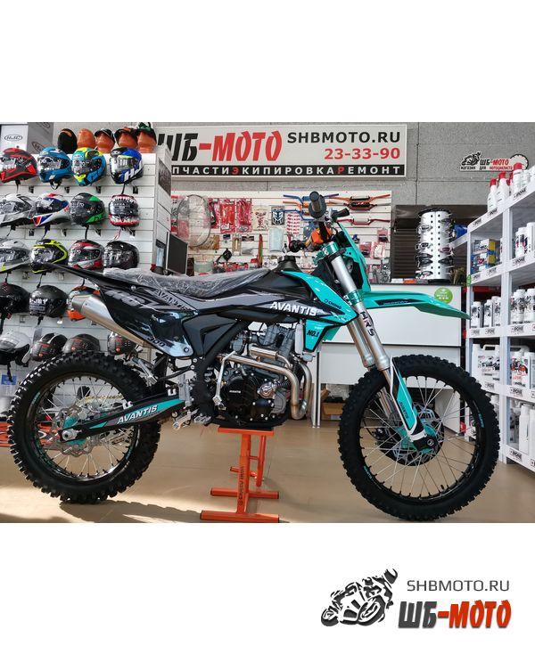 Мотоцикл Avantis A6 300 Lux 2021 (Черный/бирюзовый)