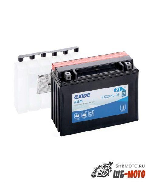 Аккумуляторная EXIDE AGM YTX24HL-BS