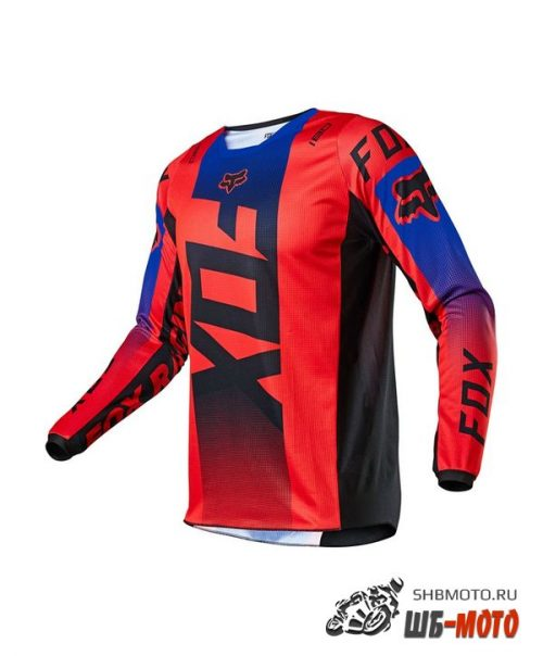Мотоджерси Fox 180 Oktiv Jersey Red, 2021