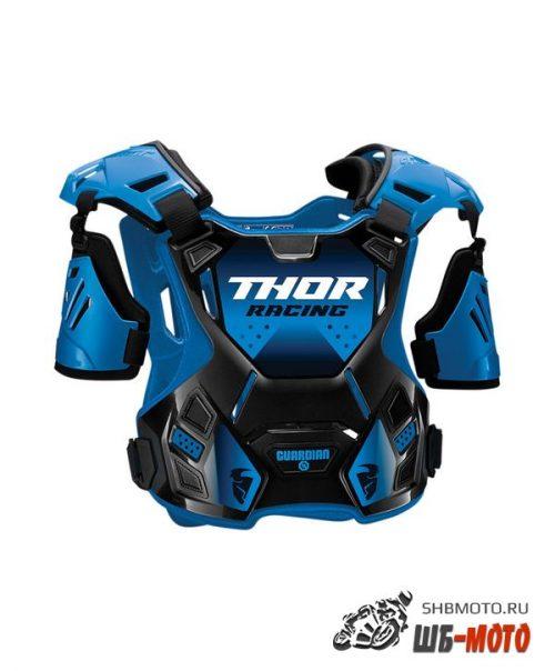 Защита тела Thor Guardian S20 черно-голубая