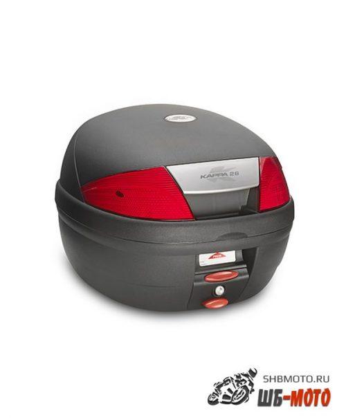 KAPPA Monolock Кофр 26 литров черный K26N