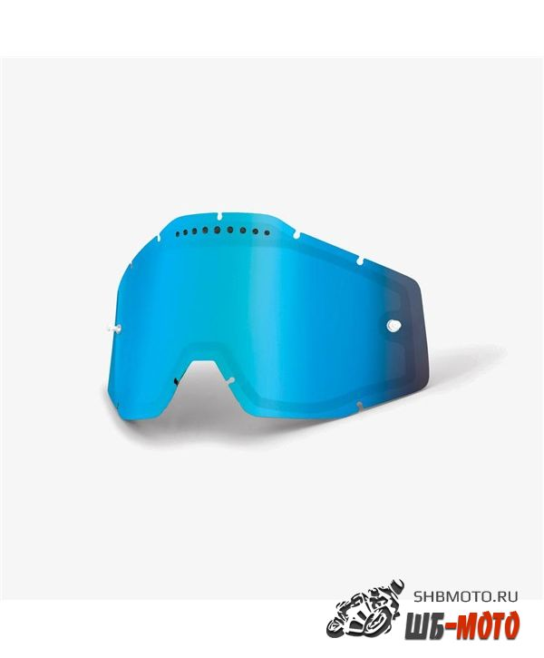 Линза 100% RC2/AC2/ST2 Replacement Lens Vented Dual Pane Mirror Blue