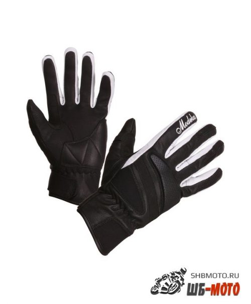 Перчатки Modeka Camira Lady Black White