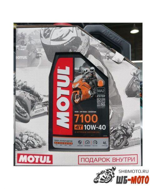 MOTUL 7100 4T 10W40 (4л) + C4 Factory Line 400ml
