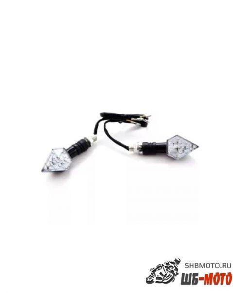 Поворотники светодиодные (компл. 2шт) SM-PARTS SMP-10 черные