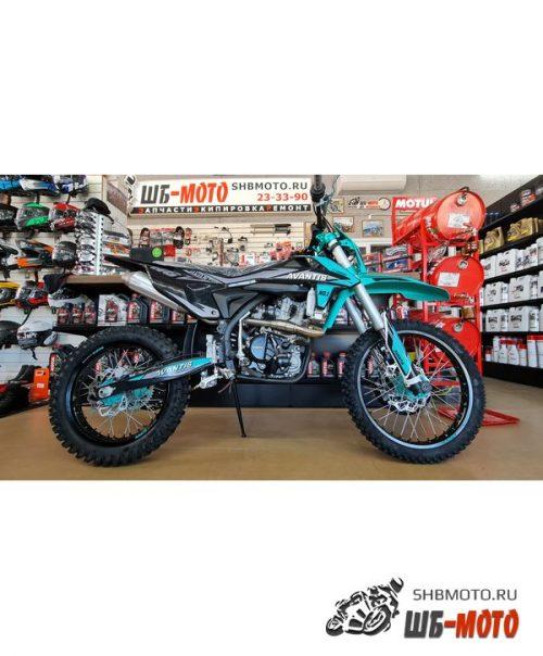Мотоцикл Avantis A6 300 (CBS300/174MN-3) 2021 (Черный/бирюзовый)