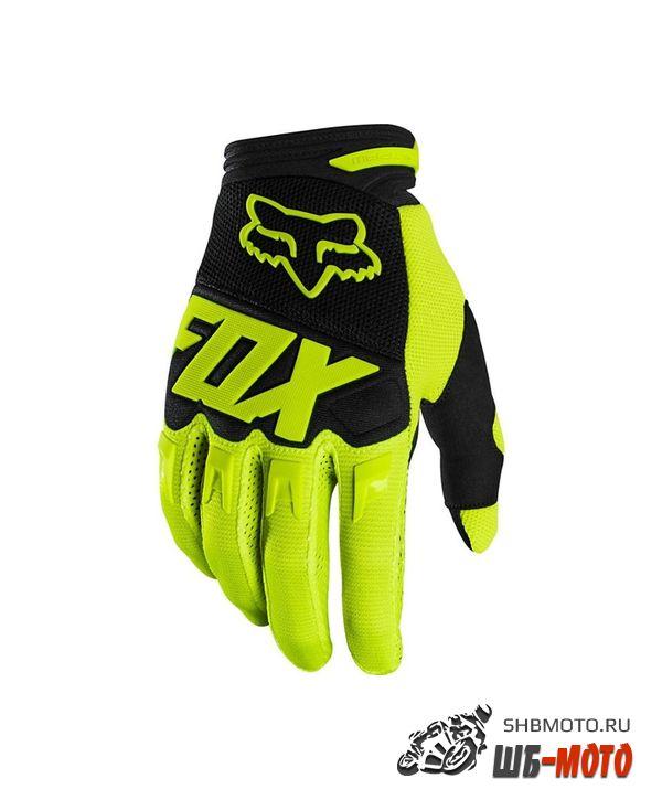 Мотоперчатки подростковые Fox Dirtpaw Race Youth Glove Flow Yellow
