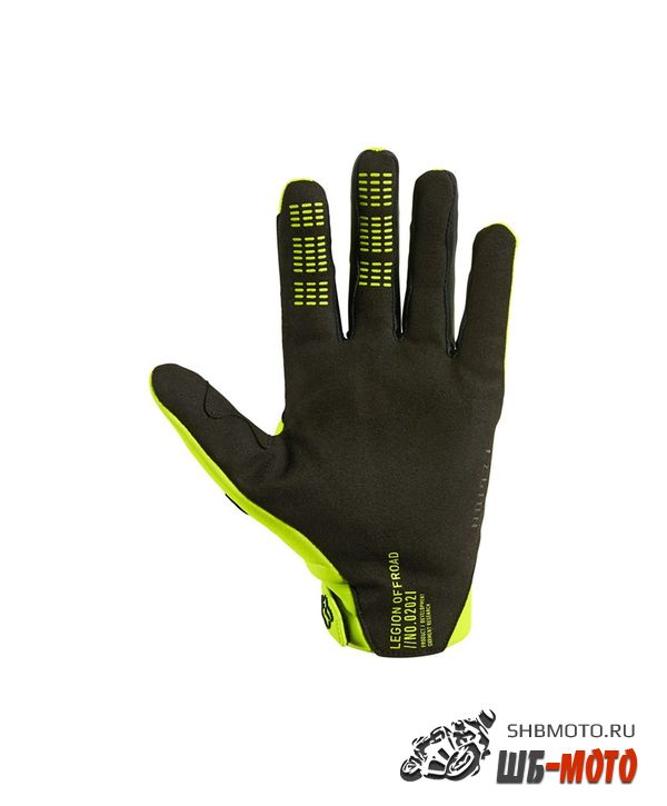 Мотоперчатки Fox Legion Thermo Glove Flow Yellow 2021